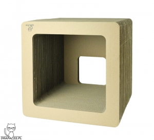 CUBE 40  scratching post with 1 wall
