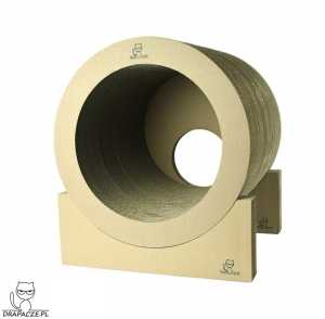 TUBE 40  scratching post with 1 wall